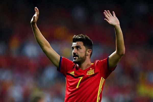 David Villa tuyên bố giã từ sự nghiệp thi đấu quốc tế