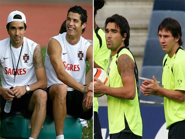 Ronaldo và Messi trong mắt đồng đội cũ