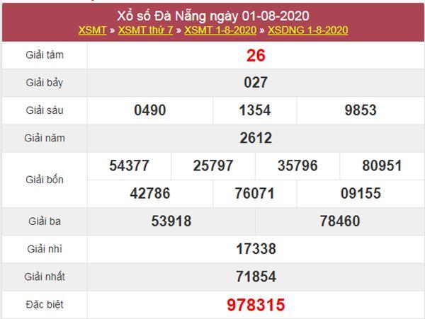 Soi cầu KQXS Đà Nẵng 5/8/2020 siêu chuẩn cùng cao thủ